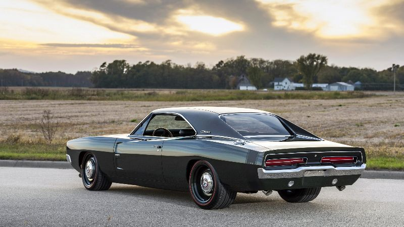Muscle cars clásicos más populares Dodge Charger 1969