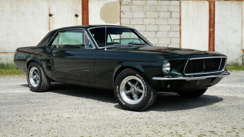 Muscle cars clásicos más populares Ford Mustang 1967